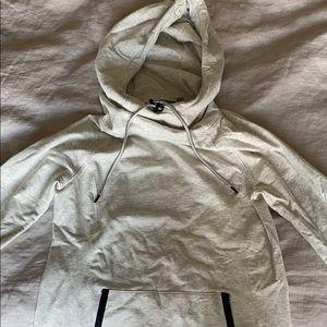Athleta hoodie, cream, XS